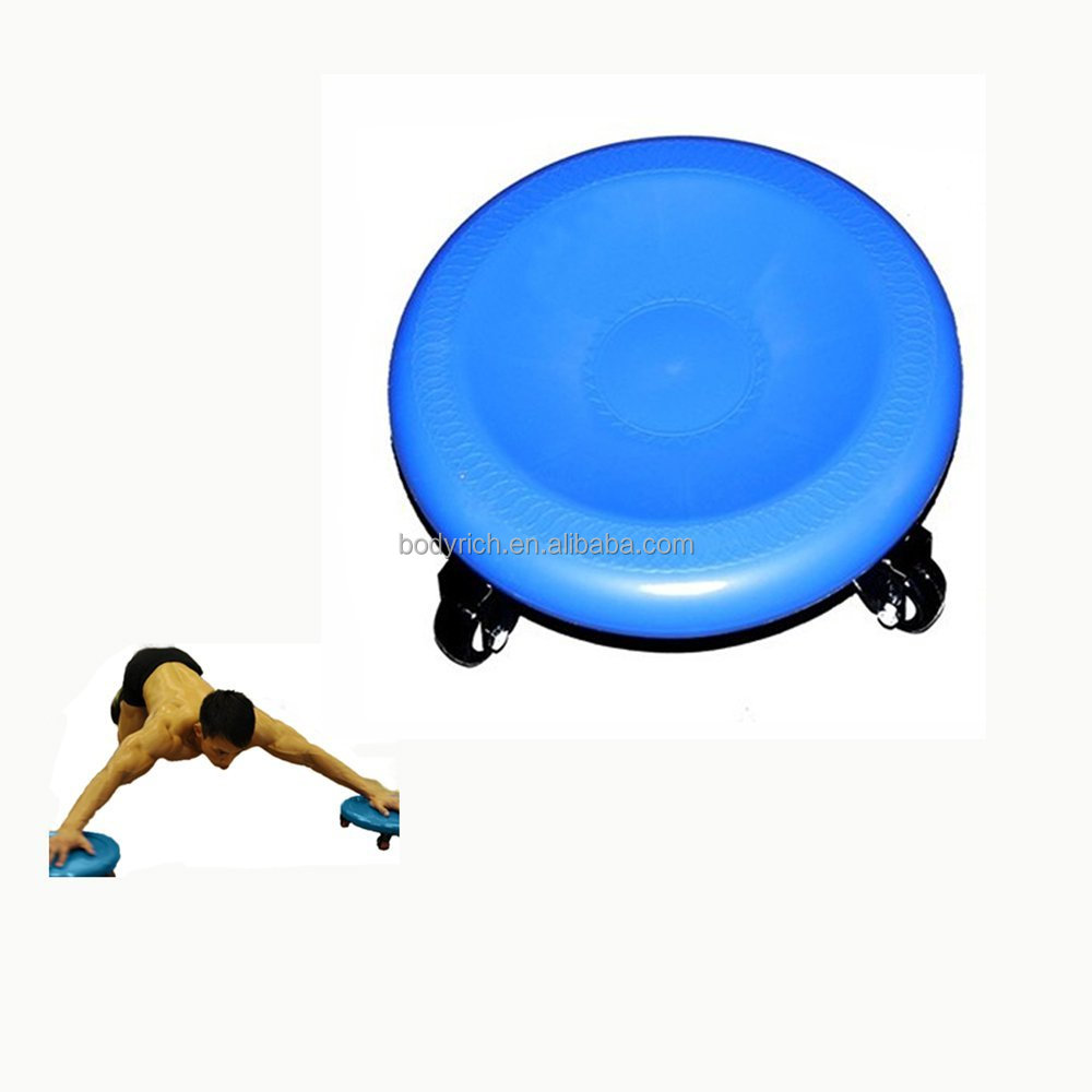 Gym Power Stretch Roller Wheel Exercise Fitness Slim Body Roller