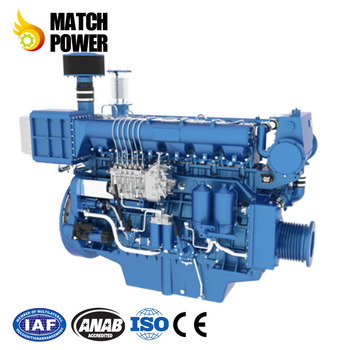 Weichai Whm6160 Low Noise Marine Diesel Engine Used For Working Ship - Buy  Whm6160c520,520hp Marine Engine,500hp Marine Diesel Engines In India