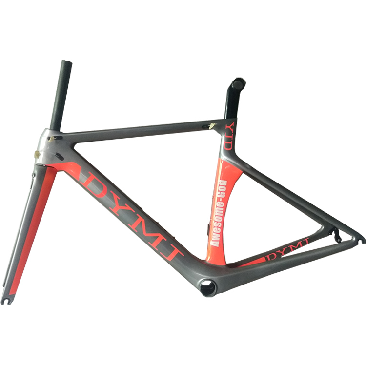 2018 new design 54-58cm carbon road bike frame 60cm with standard BB68