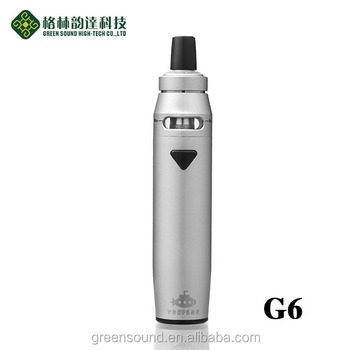 Greensound electronic cigarette TPD compliant ecig ego AIO G6 vape starter kit