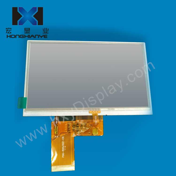 5 inch 480*272 800*480 capacitive touch tft lcd display module
