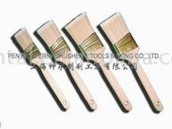 SHSY-001-A WHITE BRISTLE WALL PAINT BRUSH WITH HANDLE