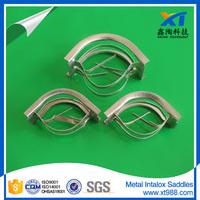 SS304 Metallic Intalox Saddle For Deep Vacuum