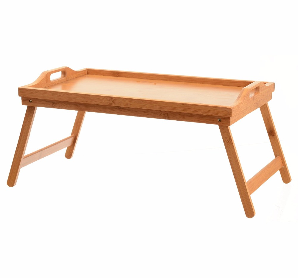 Tv Dinner Folding Bed Tray Table Breakfast Tray Bamboo Wood Bed Table   Buy  Wooden Bed Tray Table Product On Alibaba.com