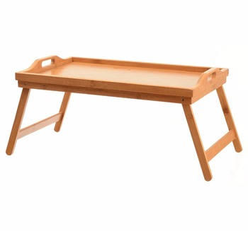 free shipping 1655d bdc8e Tv Dinner Folding Bed Tray Table Breakfast Tray Bamboo Wood Bed Table - Buy  Wooden Bed Tray Table Product on Alibaba.com