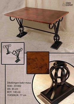 Dinner Table - Buy Copper Coffee Table,Antique Copper Table,Copper Top  Kitchen Table Product on Alibaba.com