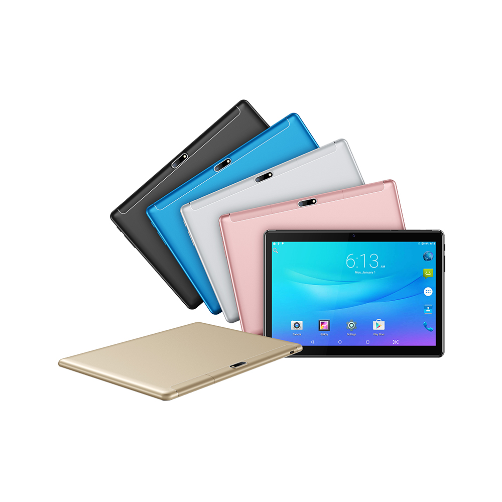MTK6762 Tablet With 4GB/6GB RAM 2.4G/5G Dual Band Wifi 10 inch Android 9.0 GMS Passed 2.5D G+G HD Screen Tablet Pc