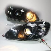 Angel Eyes head lamp untuk Corolla Altis 2005