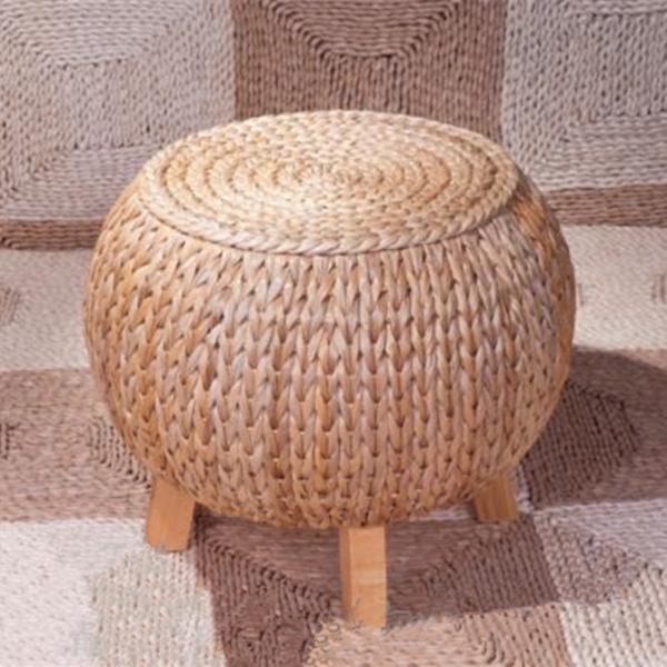 wonderland main pastorale rotin vigne bambou tabouret. Black Bedroom Furniture Sets. Home Design Ideas