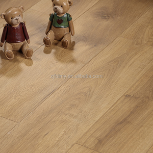 Luxury water resistant parquet laminate wood floor