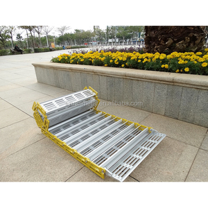 2018 cheap and high quality best outdoor portable wheelchair aluminum ramps