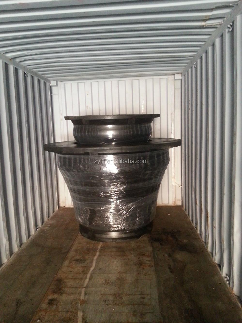 PIANC 2002 international standard super cone marine rubber fender for quay
