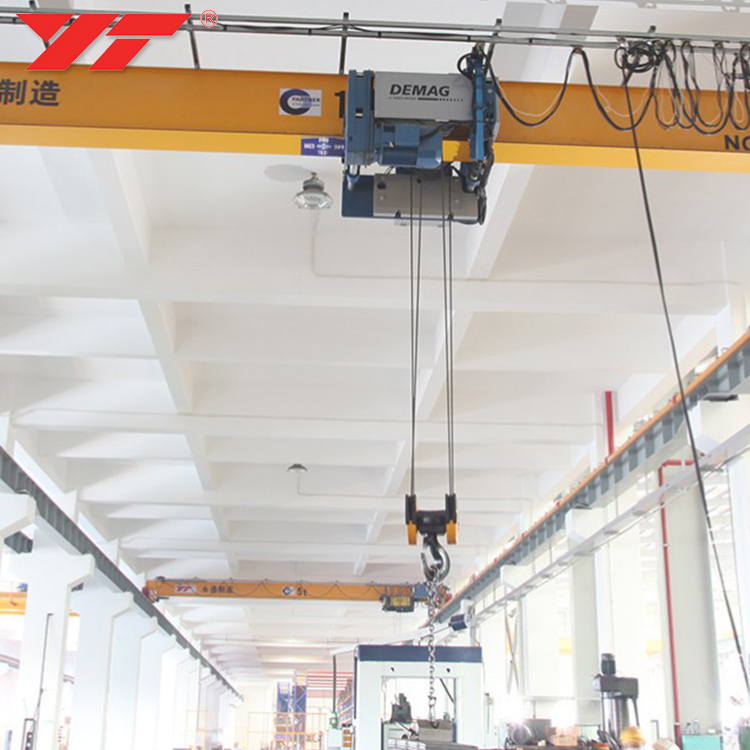 General Industrial Equipment workshop warehouse use roof travelling overhead monorail crane