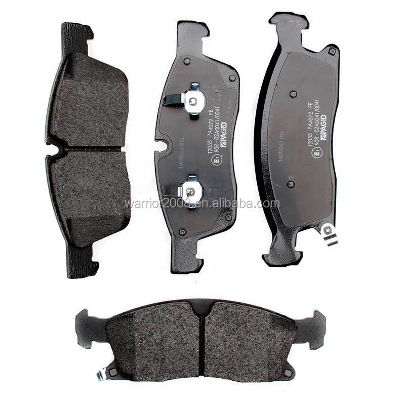 68052369AA D1455 Front Auto Disc Brake Pad Set for 2011-2016 Dodge Durango Jeep Grand Cherokee (BR6 or BRY brake systems )