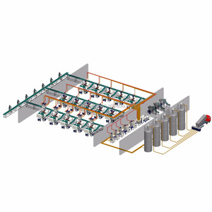 Guangzhou injection machine centralized feeding system