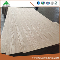 Cheap 18mm Natural America Oak Veneered MDF Board