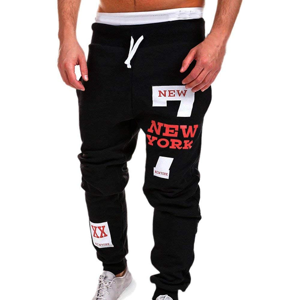 Sweatpants For Men,Clearance Sale-Farjing Mens Fashion Trousers Pants Casual Pants Sweatpants
