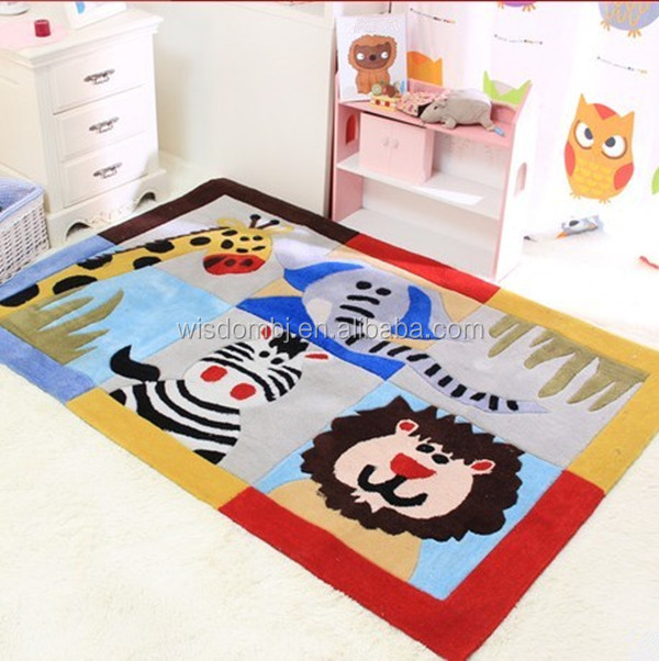 Baby play new decorative room polyester carpet and rugs
