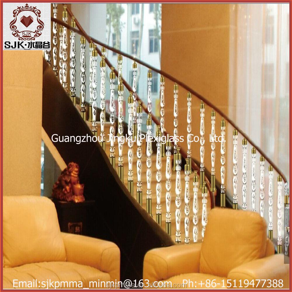 gro verkauf der fabrik plexiglas treppengel nder preise br stung und gel nder produkt id. Black Bedroom Furniture Sets. Home Design Ideas