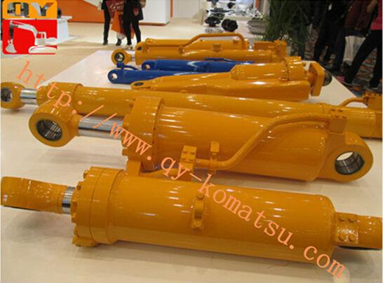 Hydraulic Boom Joint : Excavator boom arm bucket hydraulic oil cylinder for pc