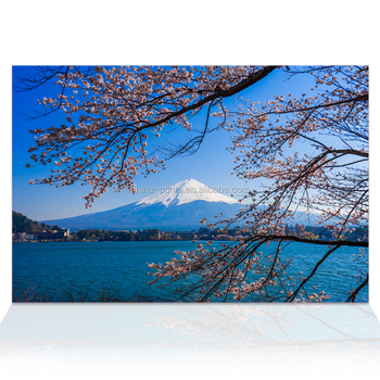 1 Pieces Hd Mount Fuji Moutain Scenery Canvas Art Decor Japanese Landscape Painting Wall Picture For Living Room Ready To Hang Buy Home Goods Wall