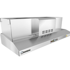 Stainless Steel Commercial Kitchen Exhaust Hood