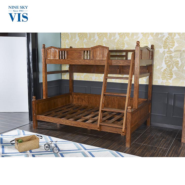 Fuerte y durable litera barato marcos/niños de madera cama doble ...