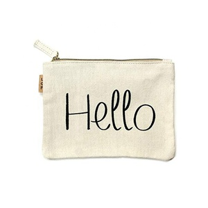 Bulk Canvas Foldable Cosmetic Bag Brush Makeup Bag Toilet Bags For Ladies