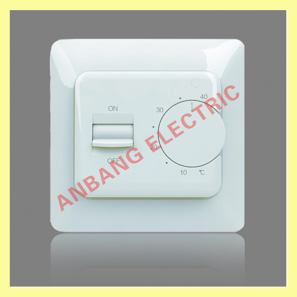 Hotel electric floor heating digital thermostat