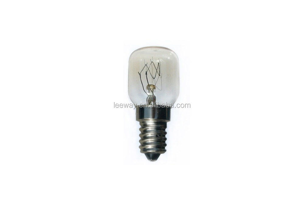 E14 S 25W T25 pygmy Oven Bulb for UK market
