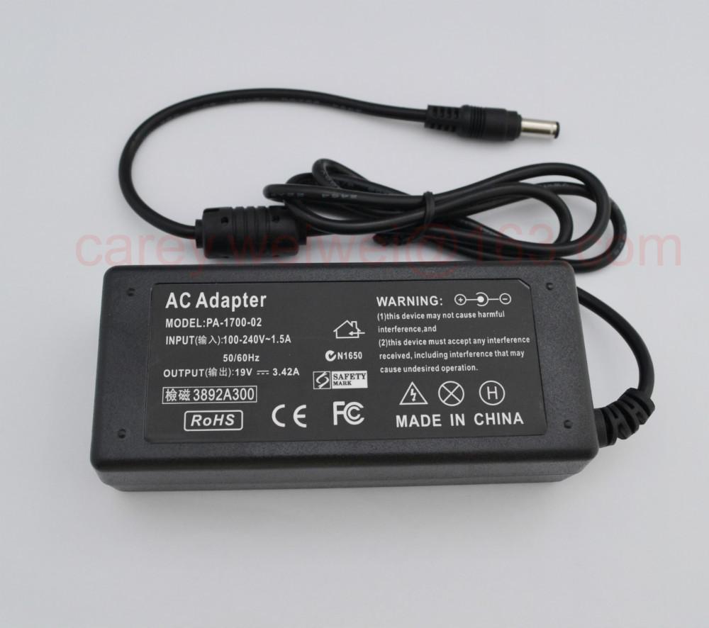 1 шт. N101 лэптоп переменный ток адаптер для Lenovo / Asus / Toshiba / BenQ 19 V 3.42A 5,5 X 2,5 мм переменный ток адаптер электропитание питания зарядное устройство