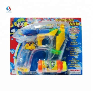 crystal music 4 light led bubble gun toy bubble water gun