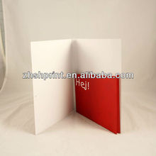 Custom printed paper folders with pocket