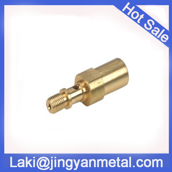 CNC machining billet aluminium/brass high speed needle holder