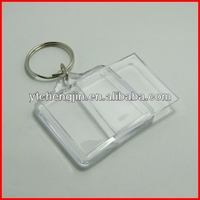 clear plastic square acrylic keychains for cheap wholesale