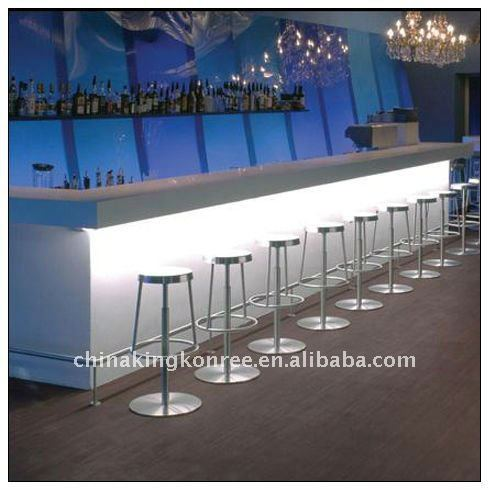 kkr factory artificial stone commercial bar counter for sale