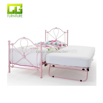 Bon Pink Single Size Metal Bed For Girl Bed Room Cheap Price   Buy Single Metal  Bed With Under Bed,Pink Single Bedframe,Metal Bed For Girl Wooden Slats ...