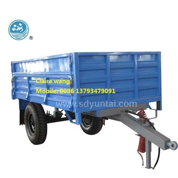 high quality four wheel tipping trialer