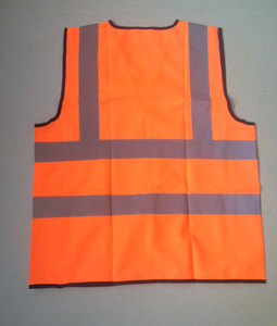 OEM orange safety vest with reflective
