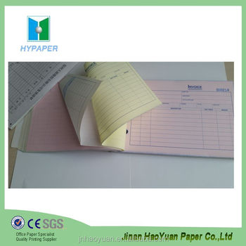 comercial invoice form 3 ply carbonless copy paper - buy 3 ply, Invoice templates