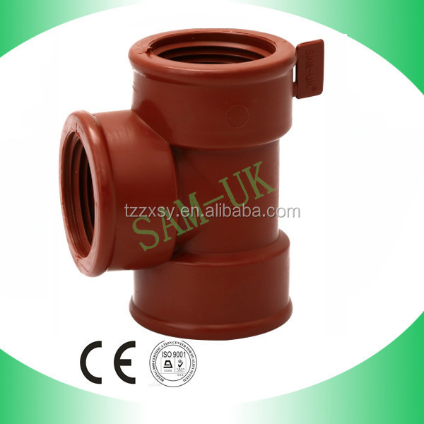 "Names Pipe Fittings Water Main Tee PP Female Tee (1/2""-2"")"