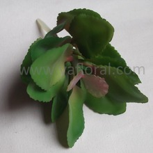 New style green succulent with factory price for artificial succulents for sale anthurium silk plant