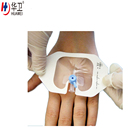 Medical transparent iv fixing dressing