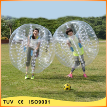 New design inflatable bumper ball , body zorb ball , human bubble ball