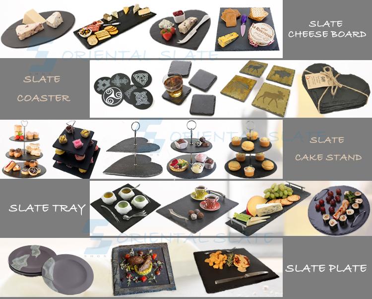 China Natural stone cheap black slate plate for sales  sc 1 st  Alibaba & China Natural Stone Cheap Black Slate Plate For Sales - Buy Black ...
