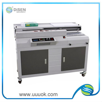 High precision automatic gluing book binding machine