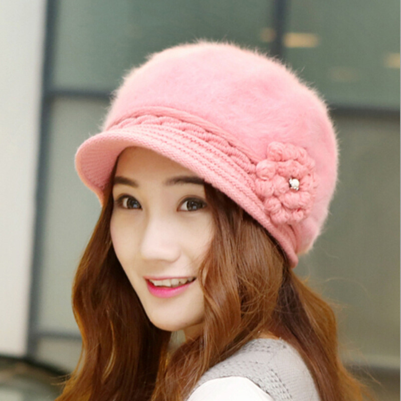 2015 New Fall Hats For Women Cute Winter Hat Female Knit ...