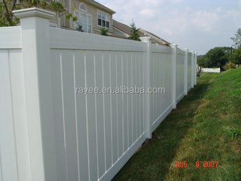 High Quality And Cheap Price Vinyl 8 X6 Pvc Fence Panel