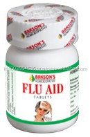 Bakson's Homoeopathy Flu Aid Tablet - 75 Tablets