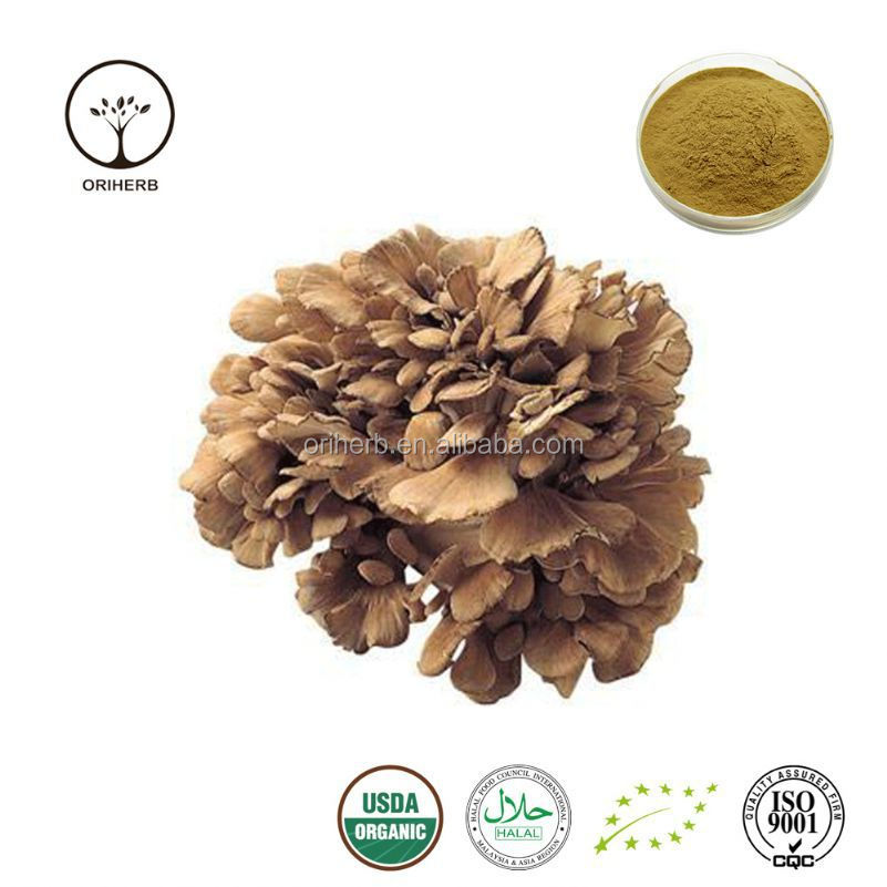 Hot sale organic maitake extract beta glucan